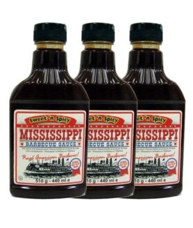 Grillsauce Sweet - Mississippi BBQ Sauce Sweetn Spicy - Ansicht 1