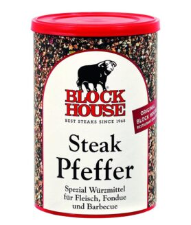 Block House Steak Pfeffer, würzig - 200g Dose