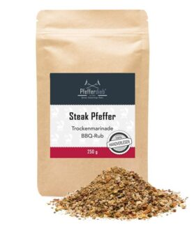 STEAK BBQ PFEFFER by Pfefferdieb - BBQ Rub - 250g