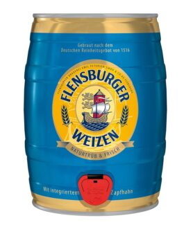 Flensburger Party- Fass Weizenbier 5 l