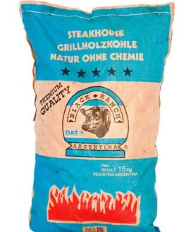 BLACK RANCH, 15 kg Grillkohle Steakhousekohle - Natur ohne Chemie