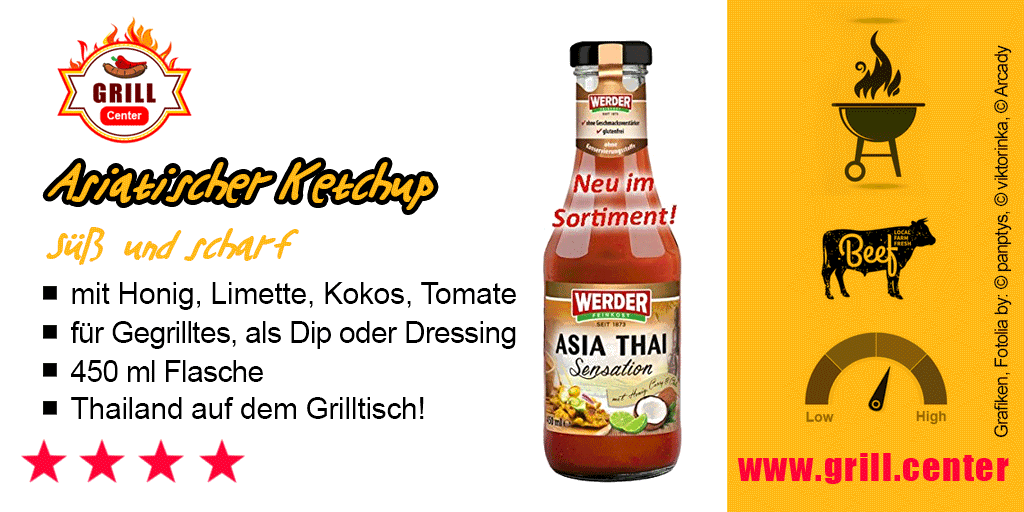 Asiatischer Ketchup - Asia Thai Sensation - Grill.Center