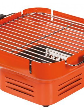 Tischgrill-Holzkohle-Camping-Grill-Klappgrill-orange-0