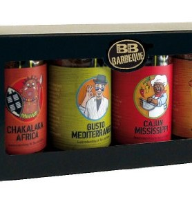 Geschenk Set veschiedene BBQ Dips - DIP IT - internationale Küche