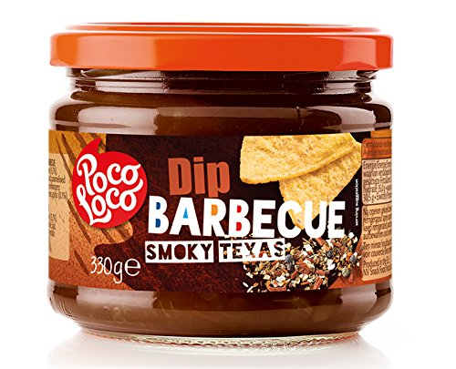 POCO LOCO Grill Dip - Barbecue Smoky Texas, 1er Pack (1 x 330g)